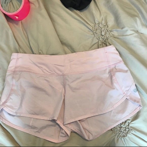 Baby Pink Lululemon Shorts Off 73 Best Deals Online
